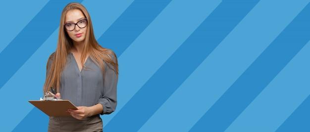 Портрет современной деловой женщины