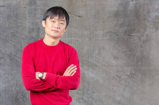 ハンサムな若いアジア人