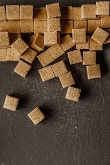 Фон из кубиков сахара