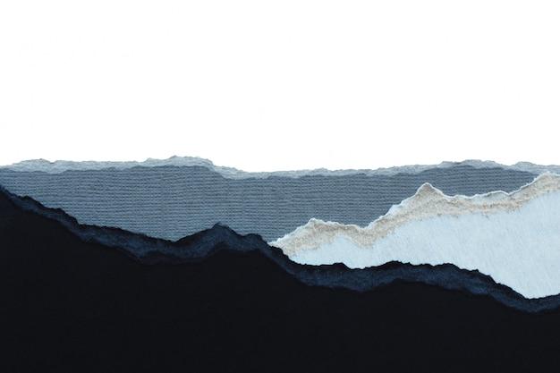 抽象的な背景とテクスチャの黒と灰色の紙