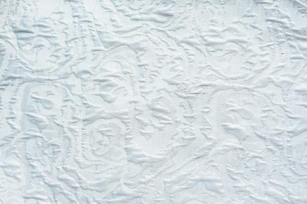 Фон и текстура легкой ткани с рисунком хаотичной.