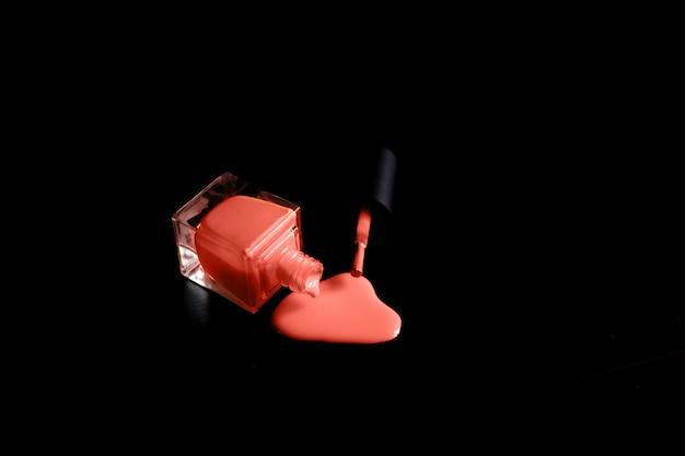 化粧品の見本。ハイライトストローク
