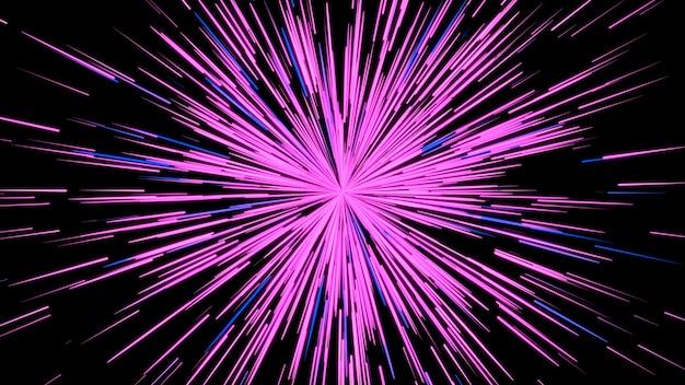 コンピューターによって生成された薄紫色の抽象的な背景