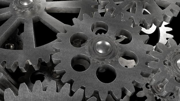 鋼のギアメタル機構