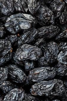 ブラックレーズンテクスチャ、人気のドライフルーツ
