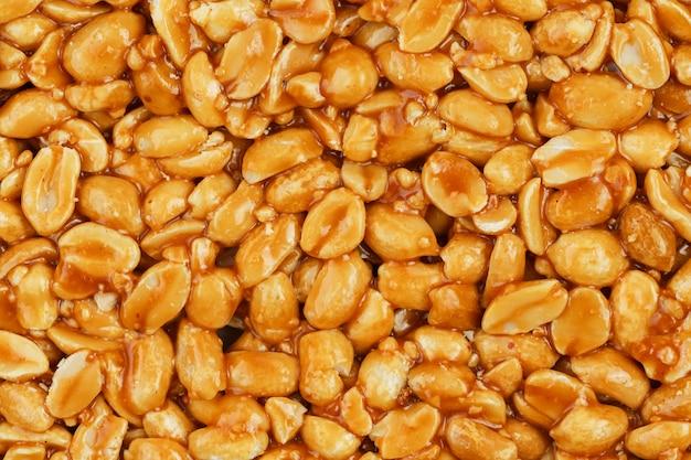 Козинаки из золотой, жареной фасоли из арахиса
