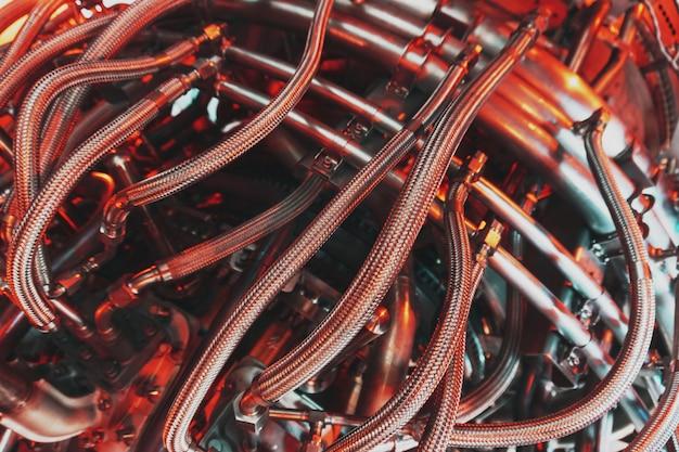 ガスタービンのターボ圧縮機の要素