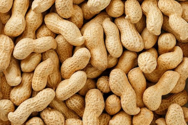 未確認の殻付きピーナッツ。