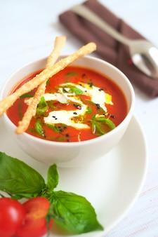 イタリアのトマトスープ