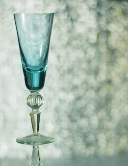 ボケ味の高いガラスワイングラス。