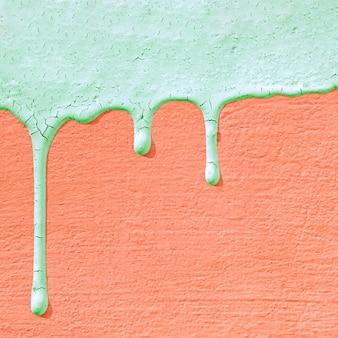 Текстура бетонной стены с каплями краски.