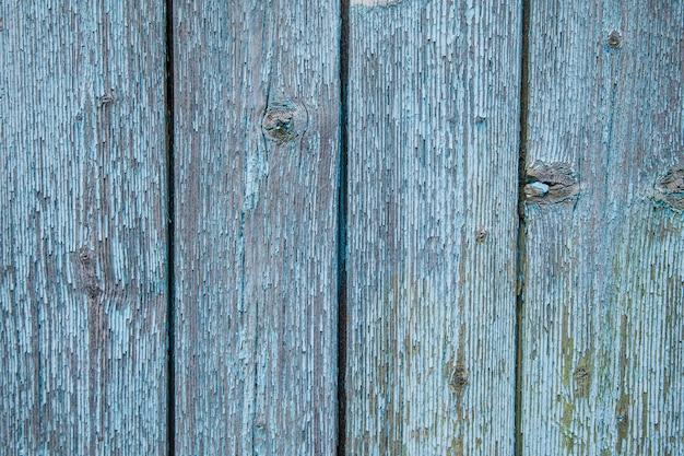 古い塗られた木製の壁 - テクスチャや背景