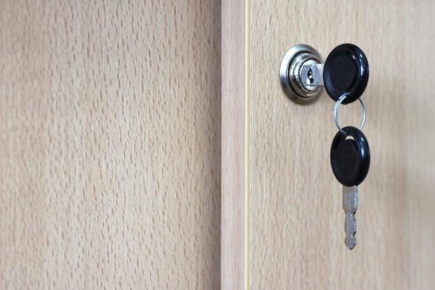 オフィスの戸棚の鍵