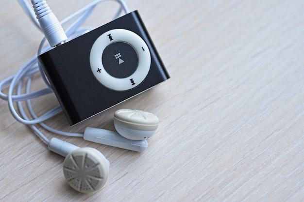 ヘッドフォン付きデジタルコンパクトミュージックプレーヤー