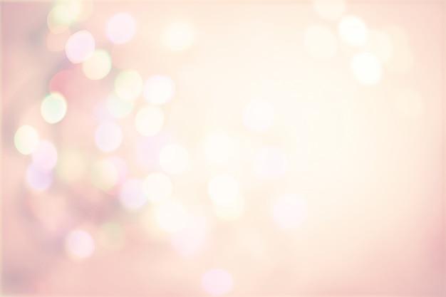 多重スポット光ボケとピンクのパステル調のビンテージ背景