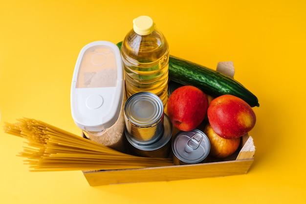 Продовольственные товары кризисного запаса продовольствия на карантинный период изоляции