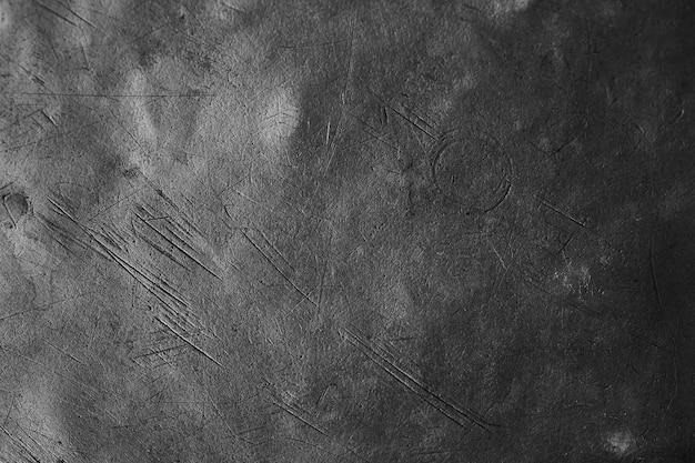 ブラッシュブラスプレート背景テクスチャ、傷やへこみのある金属表面