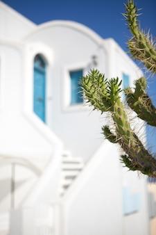 サントリーニ島、ギリシャのイアの町。