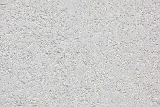 白いセメント石膏壁水平背景