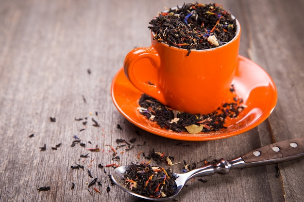 Сушеный масала чай