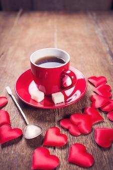 バレンタインデーの朝の朝食