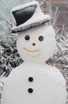 雪だるまの帽子