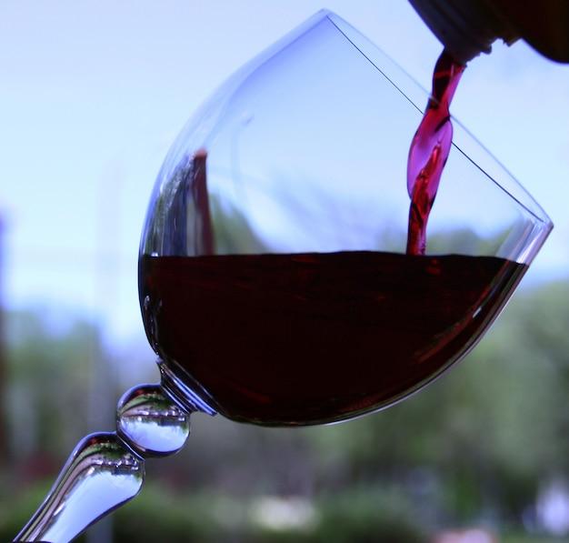 一杯のワイン