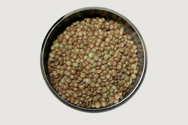 生レンズ豆