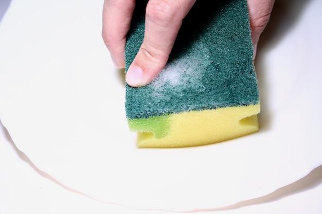 皿洗い用スポンジ
