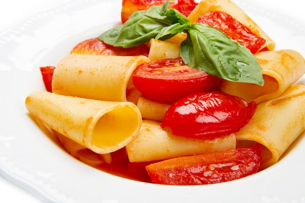 トマトソースのパチェリ