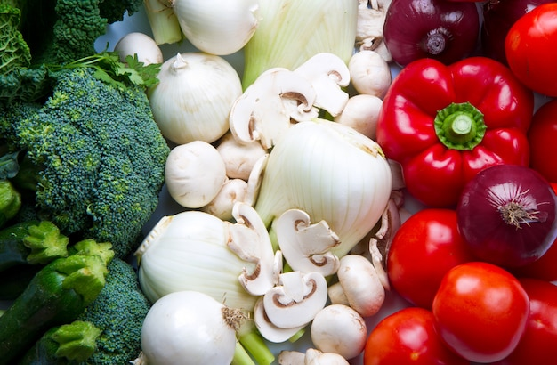 野菜とイタリアの色