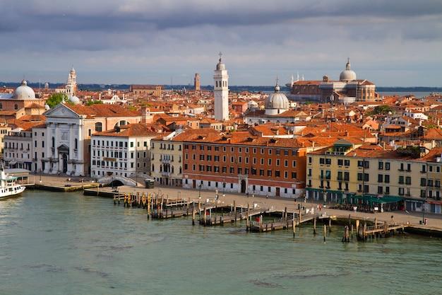 Вид венеции италия