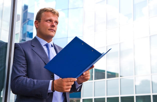 市内のビジネスマン