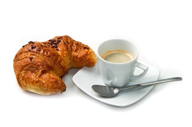 ブリオッシュとコーヒー