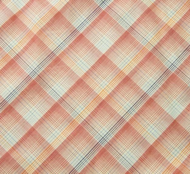 オレンジ色の布のテクスチャの背景