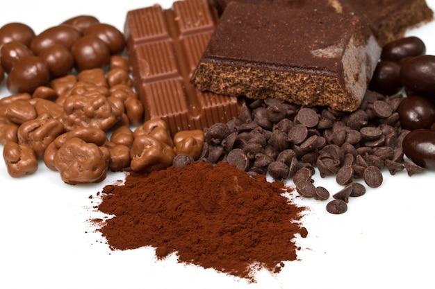 さまざまなチョコレート