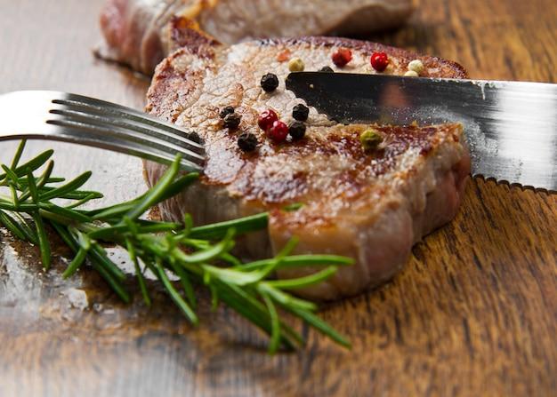 焼き肉の切り身