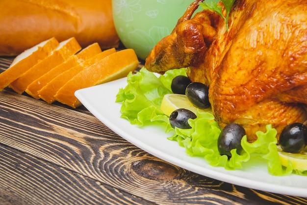 自家製ロースト感謝祭トルコ