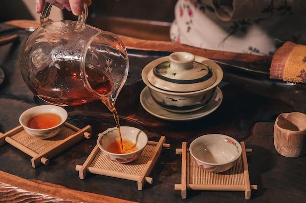 Чайная церемония в исполнении мастера