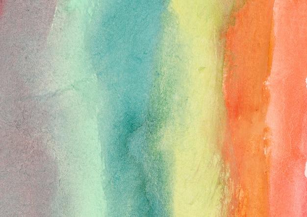Абстрактная живопись акварелью