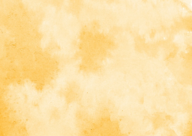 黄色の水彩テクスチャ