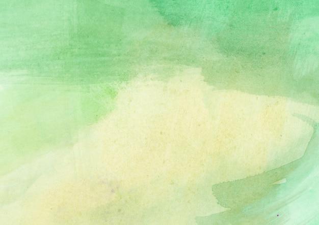 緑の水彩テクスチャ