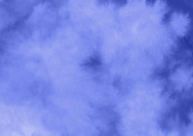 青い水彩背景