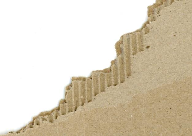 Морщинистый картон браун
