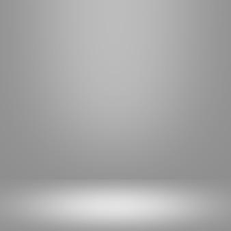 抽象的なグラデーショングレーの部屋 - あなたの商品を展示する