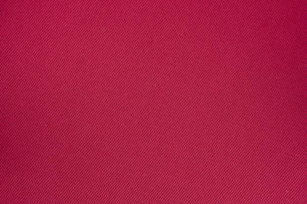 赤い綿のテクスチャ