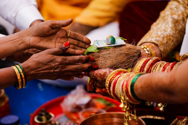 Традиционная индийская свадебная церемония