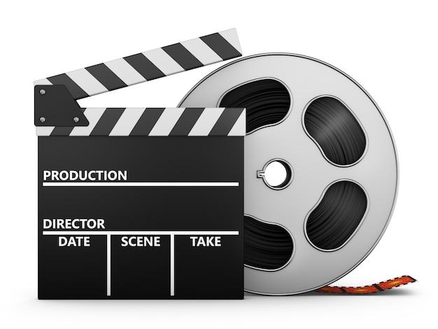 フィルムとクリップボード