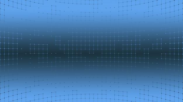 正方形のグリッドの抽象的な背景。