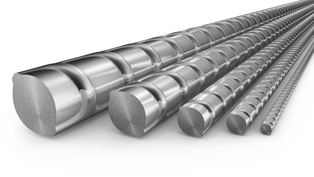 金属補強材をクローズアップ